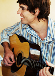 Guty with guitar